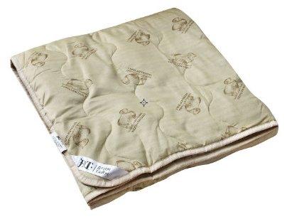 Одеяло DREAM TIME Овечья шерсть, всесезонное, 172 х 205 см (бежевый)