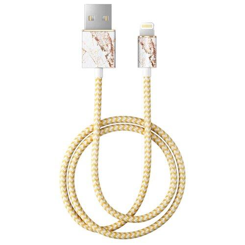 Кабель iDeal of Sweden Fashion USB - Lightning 1 м carrara gold