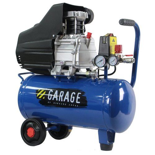 цена на Компрессор масляный Garage PK 24.F250/1.5, 24 л, 1.5 кВт