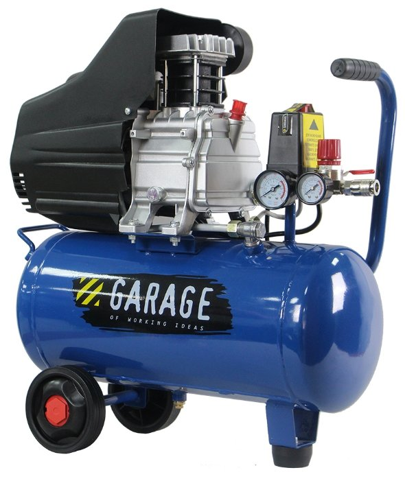 Компрессор масляный Garage PK 24.F250/1.5, 24 л, 1.5 кВт