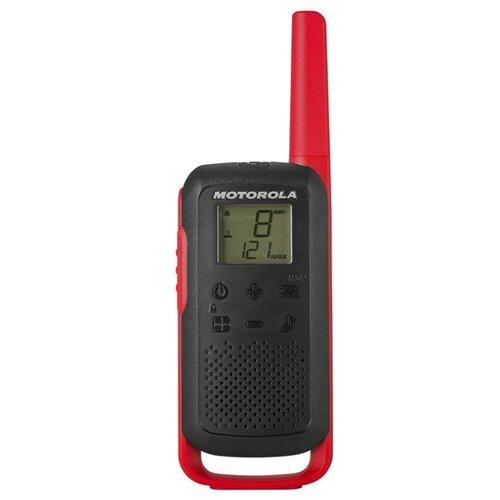 Рация Motorola Talkabout T62 красный/черный