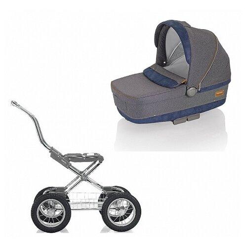 Купить Коляска для новорожденных Inglesina Sofia (шасси Comfort Chrome) jeans, Коляски