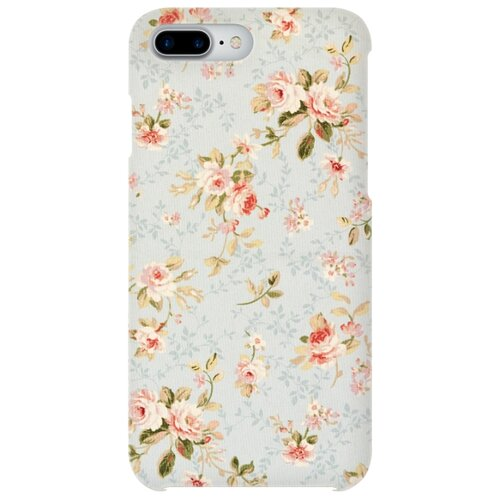 цена Чехол Mitya Veselkov IP7PLUS.MITYA-014 для Apple iPhone 7 Plus/iPhone 8 Plus Розы на голубом онлайн в 2017 году