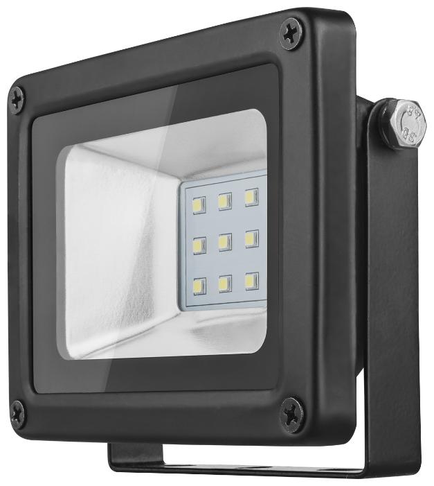 Cветодиодный LED прожектор Онлайт 10W (Вт) 4000K 800lm IP66 115x85x35 176-264 71656 OFL