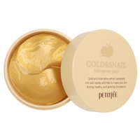 Petitfee Гидрогелевые патчи Gold & snail hydrogel eye patch
