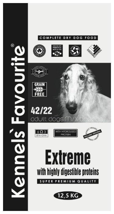 Корм для собак Kennels Favourite Extreme 42/22