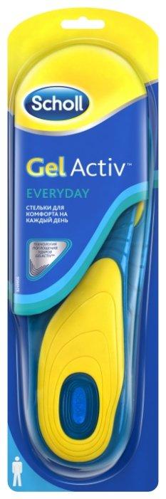 Стельки для комфорта SCHOLL GelActiv Everyday на каждый день для мужчин