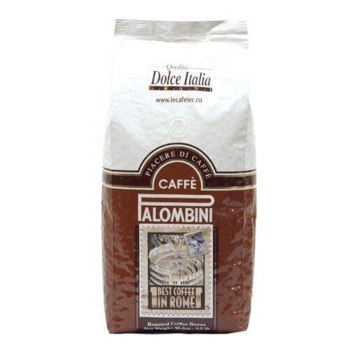 Кофе в зернах Palombini Dolce Italia, смесь арабики и робусты, 1 кгКофе в зернах<br>