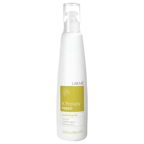 Фото - Lakme K-Therapy Repair Флюид восстанавливающий для сухих волос, 300 мл восстанавливающий флюид для волос bio organic therapy nourishing fluid флюид 1000мл