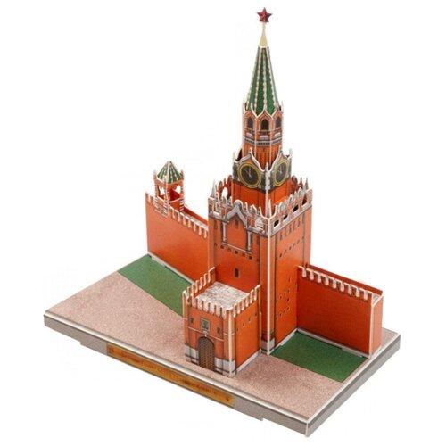 Сборная модель Умная Бумага Спасская башня (487) брошь спасская башня