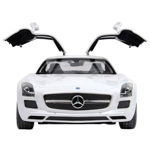 Купить Легковой автомобиль Rastar Mercedes-Benz SLS AMG (47600) 1:14 белый, Радиоуправляемые игрушки