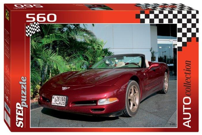 Пазл Step puzzle Auto Collection Шевроле (78063), 560 дет.