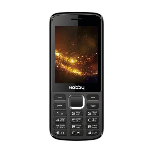 Телефон Nobby 300 черный / серый