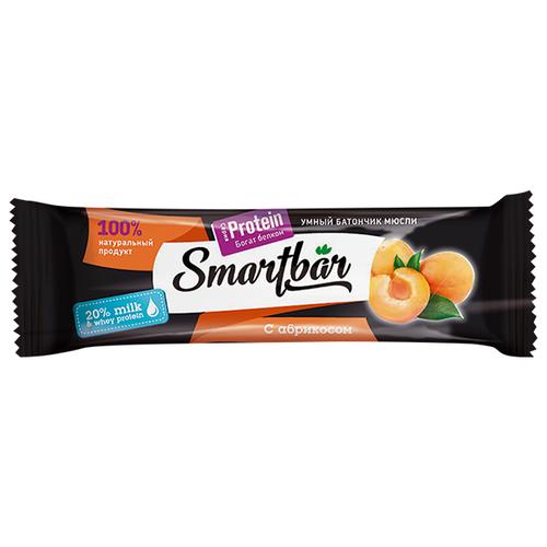 Протеиновый батончик Smartbar Protein в белой глазури с абрикосом, 40 г