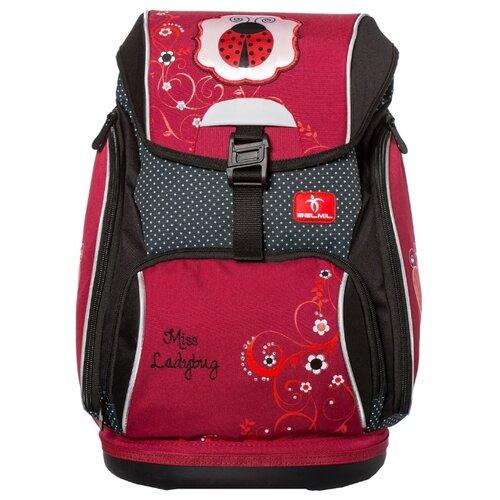 Купить Belmil Ранец Comfy Ladybug (404-31/469), красный/черный, Рюкзаки, ранцы