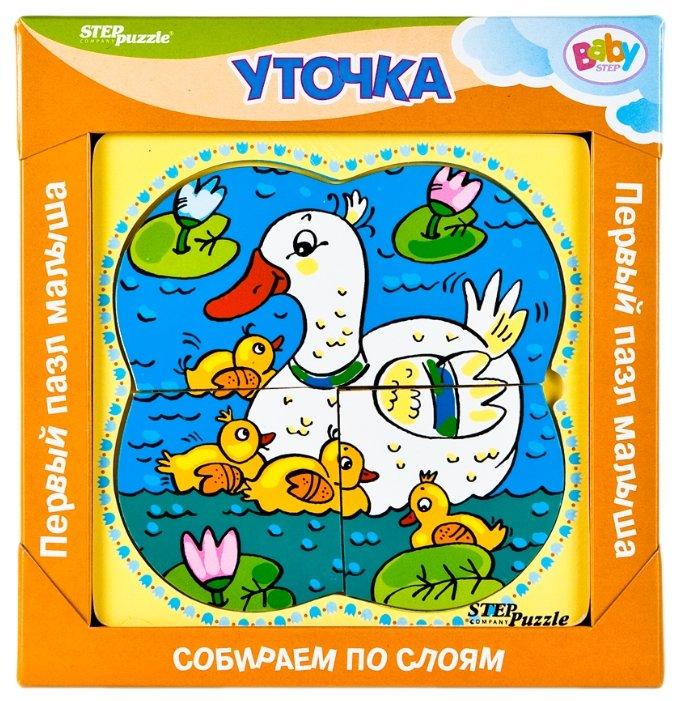 Рамка-вкладыш Step puzzle Baby Step Уточка (89022)