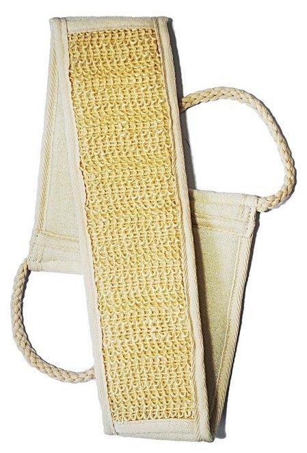 Мочалка Beauty format пояс среднего плетения из крапивы и хлопка (45463-8040)