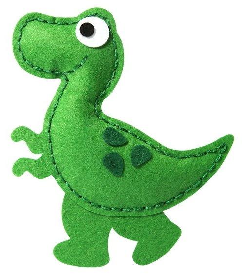 Feltrica Набор для изготовления мягкая игрушка Динозавр (4627130656578)