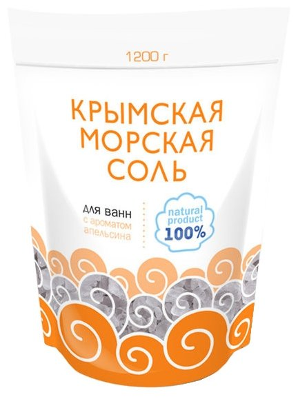 Greenfield Крымская морская соль Апельсин 1200 г