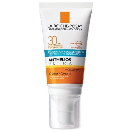 Фото - La Roche-Posay крем Anthelios Ultra для лица и кожи вокруг глаз, SPF 30, 50 мл, 1 шт la roche posay anthelios солнцезащитный невидимый спрей spf 50 200 мл