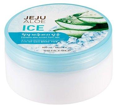 Гель для тела TheFaceShop Jeju Aloe Ice Refreshing Soothing Gel Гель универсальный для лица и тела освежающий с экстрактом алоэ