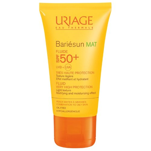 Uriage Bariesan матирующая эмульсия SPF 50 50 мл uriage барьесан матирующая эмульсия spf50 50 мл uriage bariesun