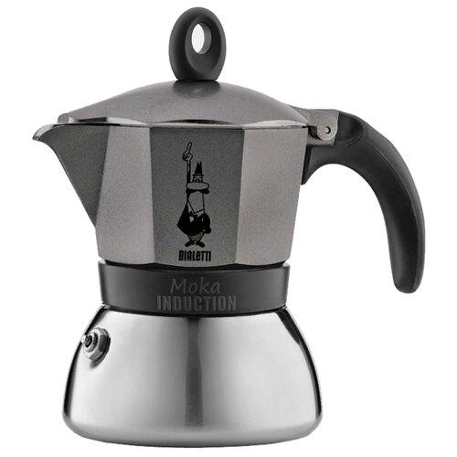 Кофеварка Bialetti Moka Induction (3 чашки) antracite