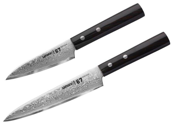 Набор из двух ножей Samura 67 Damascus