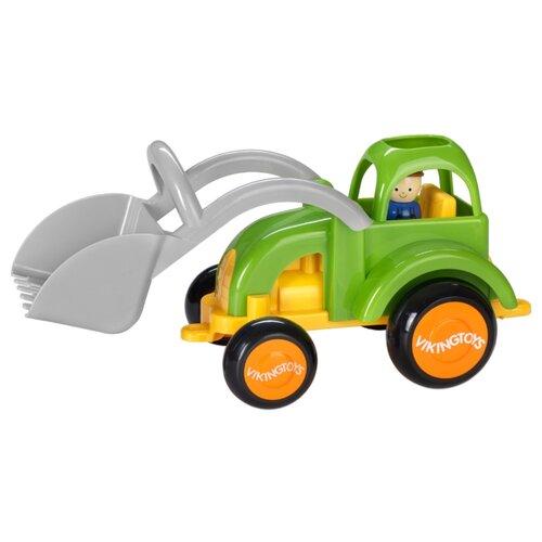 Купить Трактор Viking Toys Jumbo (701255) 25 см зеленый, Машинки и техника