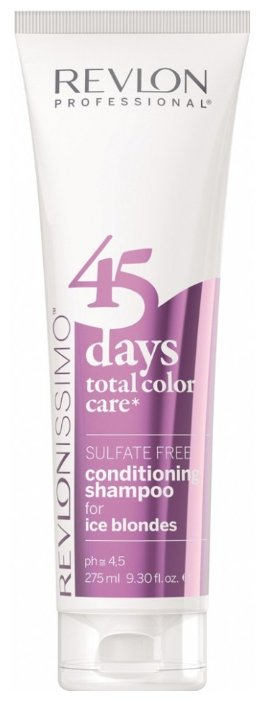 Шампунь Revlon Professional Revlonissimo 45 Days Total Color Care 2 in 1 for Ice Blondes