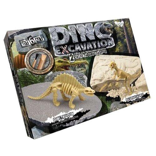Купить Набор для раскопок Danko Toys Dino Excavation Динозавры № 2, Наборы для исследований