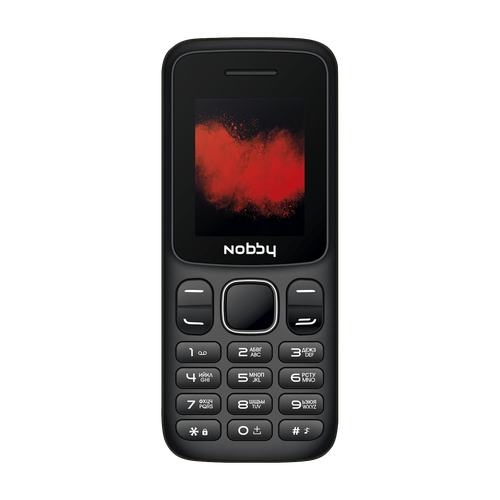 Телефон Nobby 100 черный (NBP-BP-18-04)