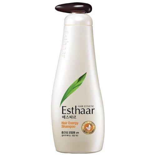 Esthaar шампунь Energy для нормальных и сухих волос 500 г с дозатором esthaar шампунь купить