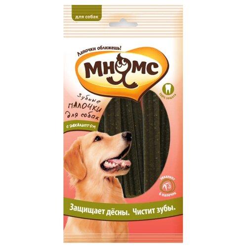 Лакомство для собак Мнямс Зубные палочки с эвкалиптом, 6 шт. в уп.