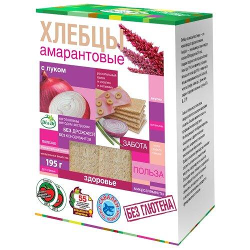 Хлебцы амарантовые Di & Di с луком (коробка) 195 г di