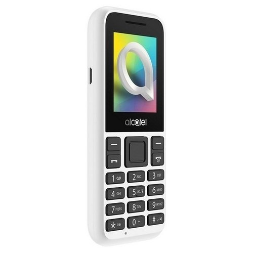Телефон Alcatel 1066D белый телефон