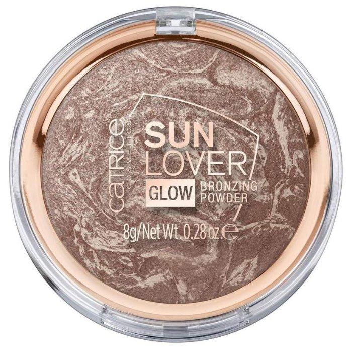 CATRICE Sun Lover Glow Bronzing Powder пудра компактная с эффектом загара
