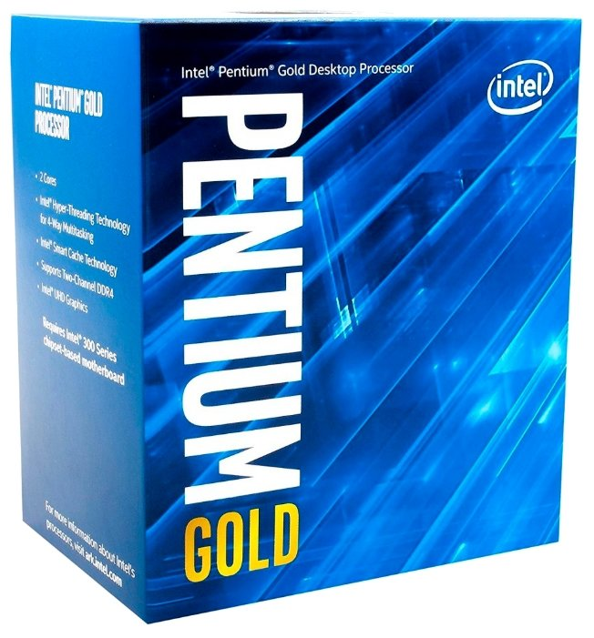 Intel Процессор Intel Pentium Gold Coffee Lake