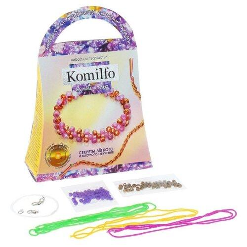 Купить Danko Toys Набор для создания украшений Браслет Комильфо (Ka-01-07), Наборы для создания украшений