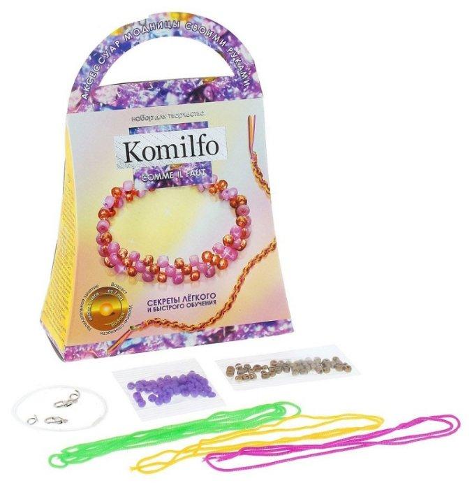 Danko Toys Набор для создания украшений Браслет Комильфо (Ka-01-07)