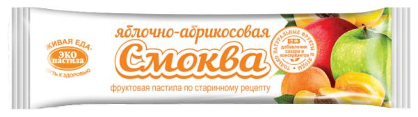 Смоква ЭКО пастила яблочно-абрикосовая 30 г