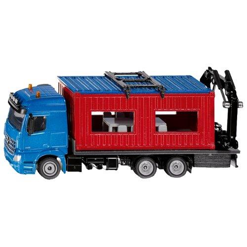 Грузовик Siku Mercedes-Benz Arocs (3556) 1:50 синий/красный