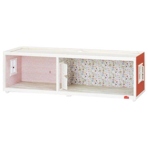 Купить Lundby дополнительный этаж для домика LB_60101500, белый/красный/розовый, Кукольные домики