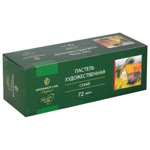 Greenwich Line Пастель сухая 72 цвета ежедневник greenwich line woodstock b6 beige enb6cr 11265 247993