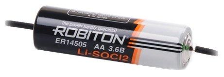Батарейка ROBITON ER14505-AX с аксиальными выводами PH1