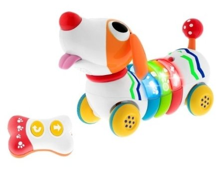 Интерактивная развивающая игрушка Chicco Музыкальная собачка Remi