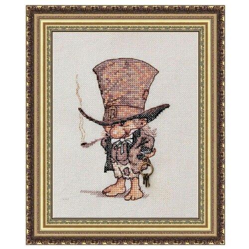 Фото - NeoCraft Набор для вышивания крестиком Джентльмен в шляпе 9 x 13 см (мн-02) neocraft набор для вышивания крестиком тихий час 17 x 25 см мн 09