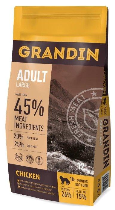 Корм для собак Grandin (12 кг) Adult Large