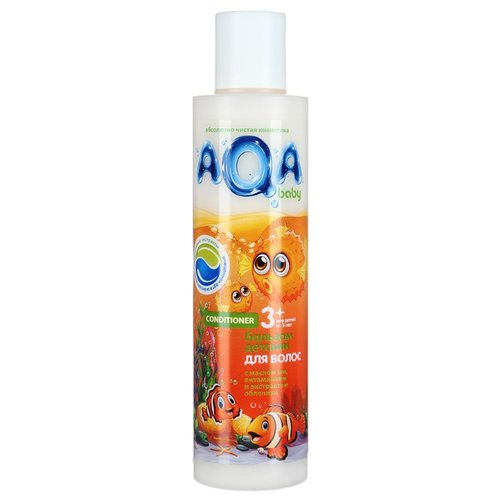 AQA baby Бальзам для волос 210 млСредства для купания<br>