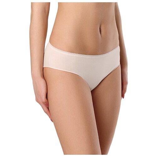 Conte Elegant Трусы Basic Bikini, размер 90, natural bue basic cutout gingham mid waist bikini set